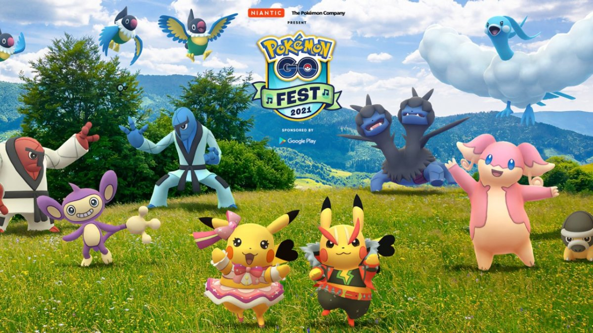 Pokemon Go Fest will be July 17 and 18