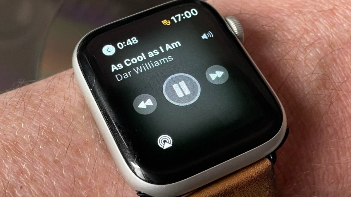 Control your Mac's music from your Apple Watch