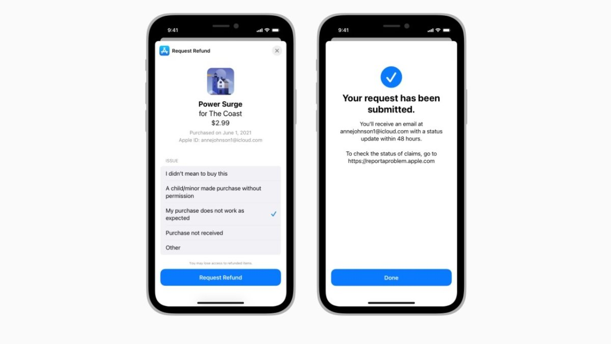Refund workflows will be simpler on iOS 15