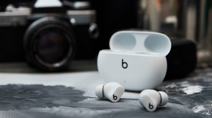 You could get the Beats Studio Buds in white if you want to mimic the AirPods aesthetic.