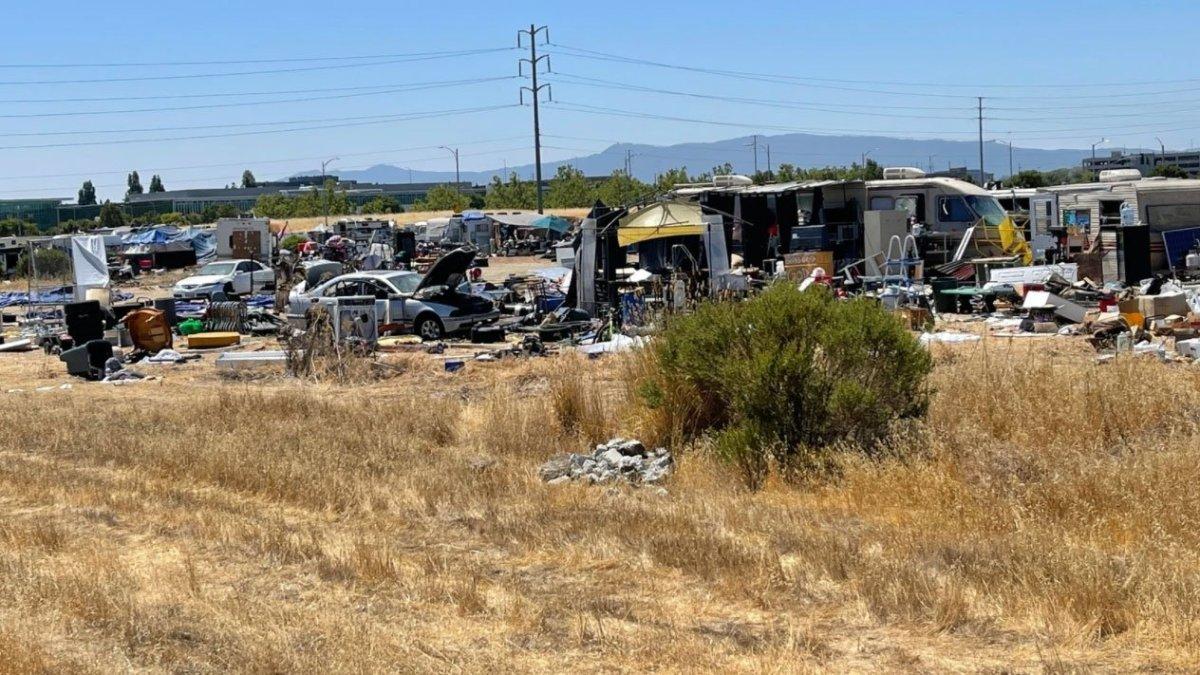 San Jose Homeless Encampment