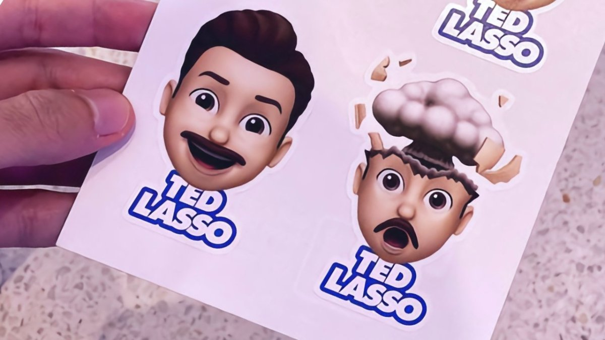 'Ted Lasso' stickers from Apple