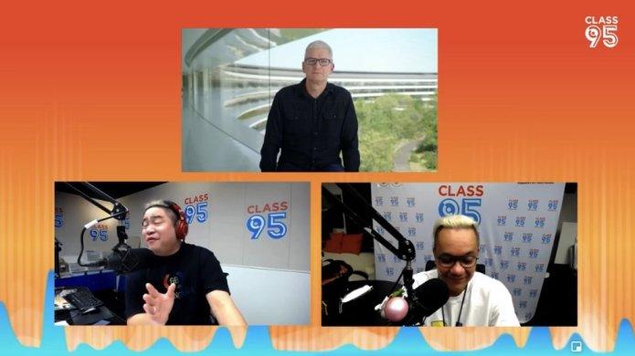 Tim Cook on Singapore's Class 95 Radio