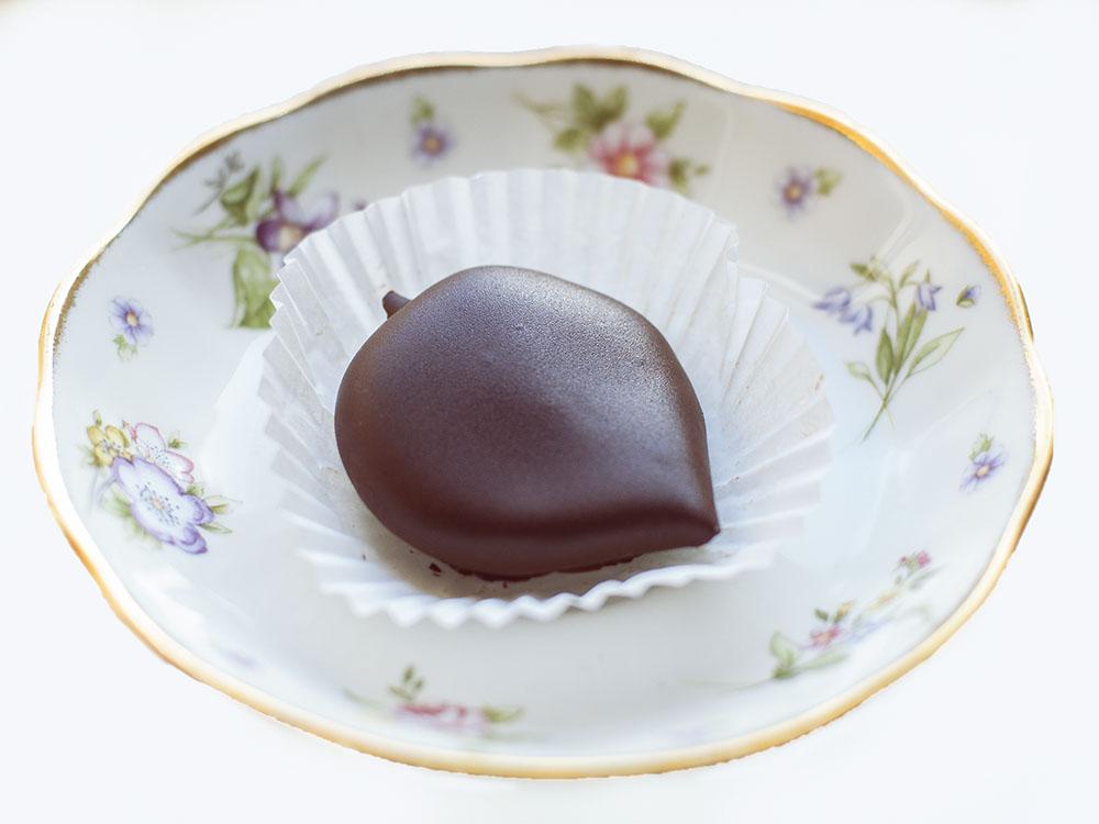 maroniherz, sweet chestnut, autumn, sweet treat