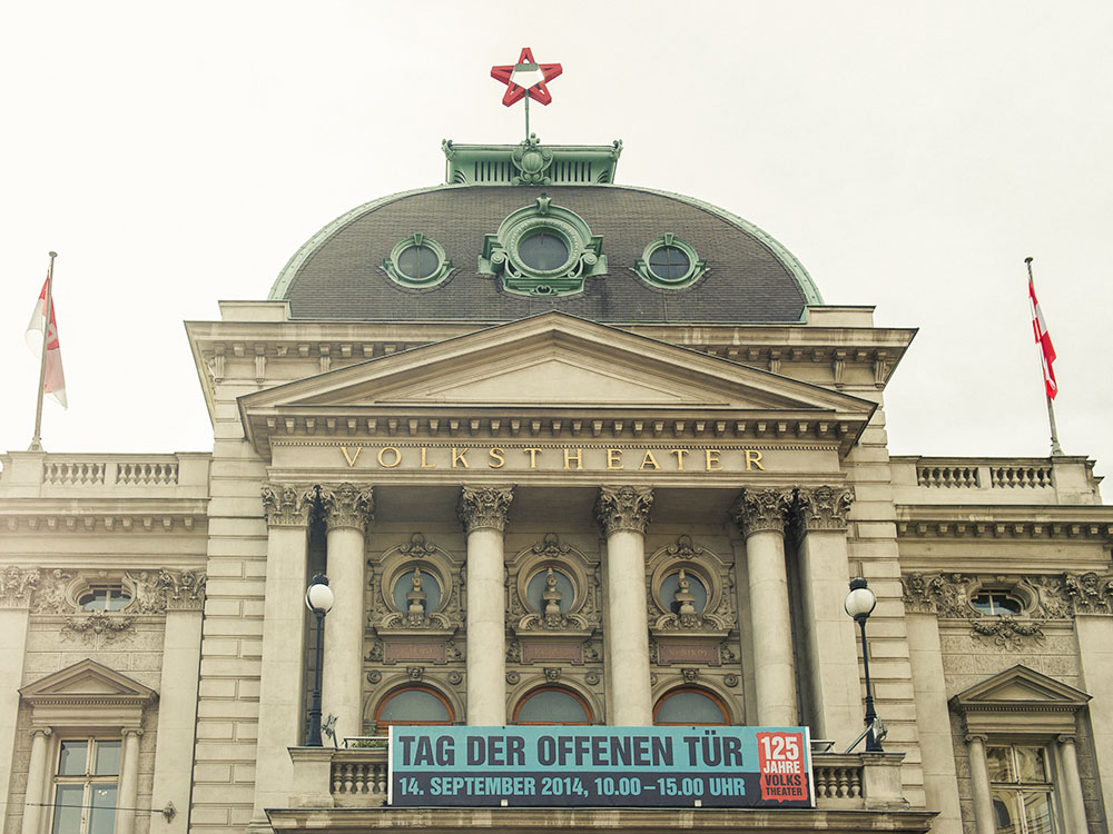volkstheater, vienna, austria, theatre, open house
