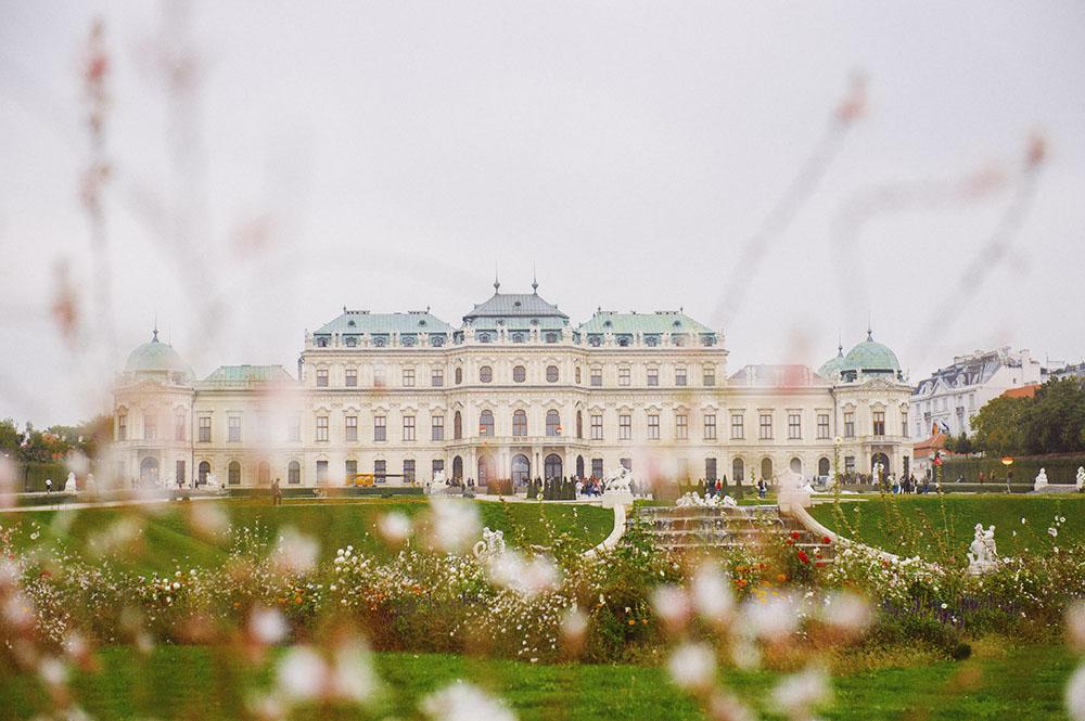 bevedere, gardens, baroque, vienna, autumn, vienna, austria