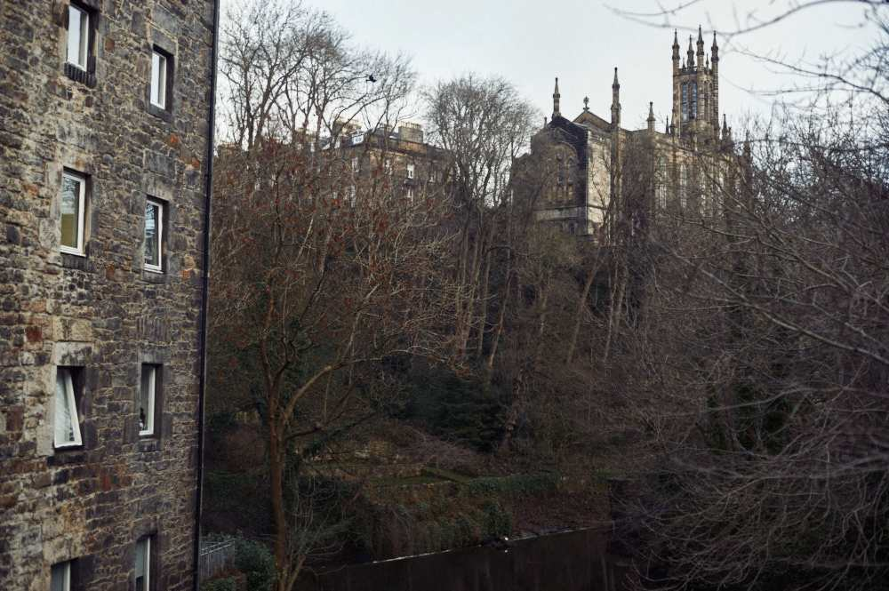 dean village, edinburgh, scotland, uk,