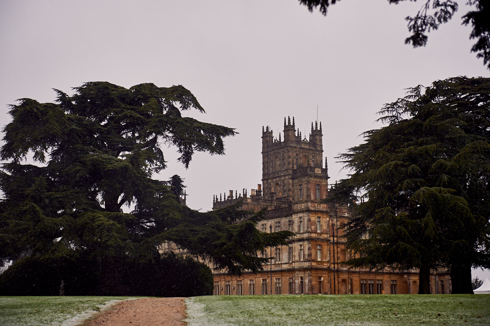 highclere castle, downton abbey, movie location, england, uk,