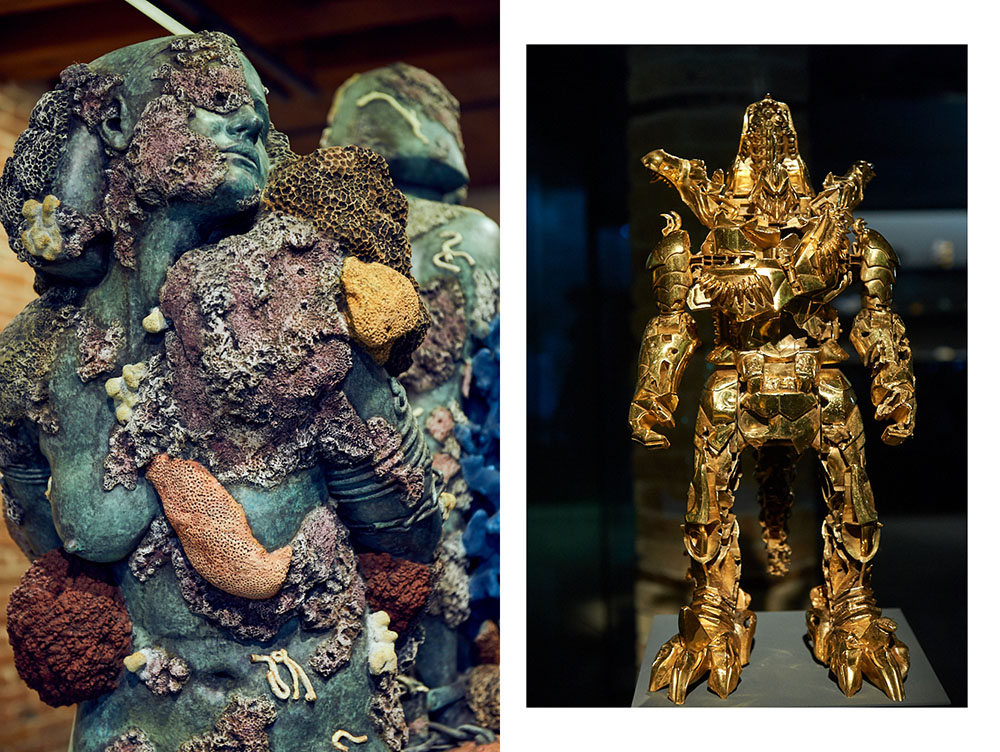 damien hirst, venice, italy, Treasures of the Wreck of the Unbelievable, punta della dogana, exhibition, biennale
