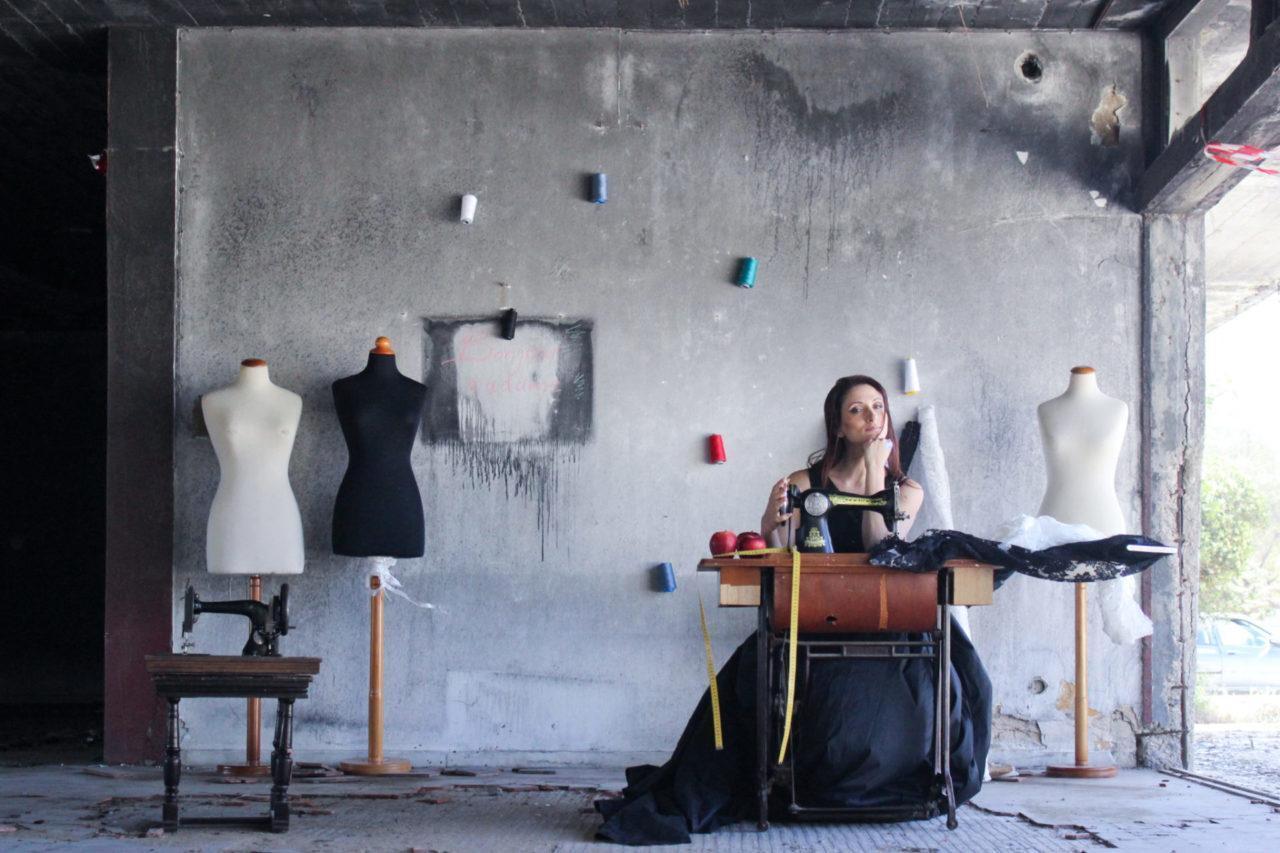 Σχεδιαστρια μοδας