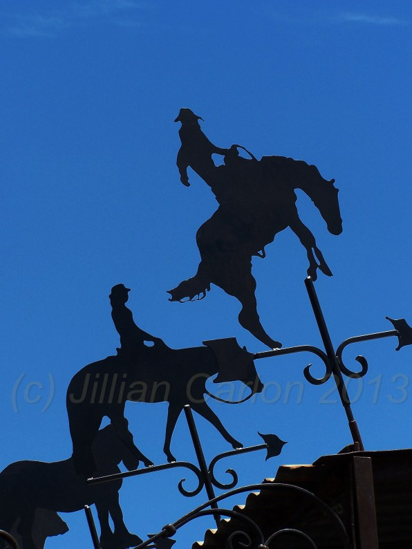 Forget the traditional weather vane, who wants a rooster pointing the direction of the wind anyway? None of these equine masterpieces were the same.