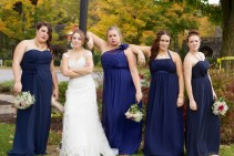 Serious Bridesmaid photos