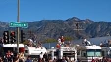 Colorado Blvd taken over by RV's