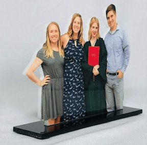 Basic Photo Editing is Free with Photo Sculpture Cutout Photo Gifts