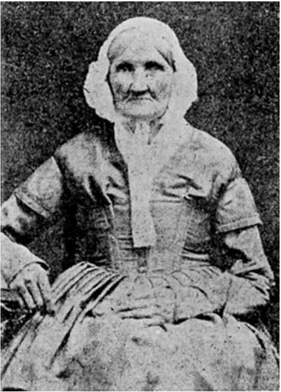 Hannah Stilley Gorby 1840