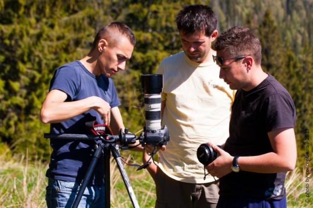 Workshop foto Ceahlau, Manfrotto 190CXPRO 3