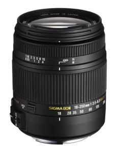 Sigma 18-250mm f/3.5-6.3