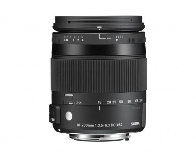 Sigma 18-200mm f/3.5-6.3 OS Macro HSM