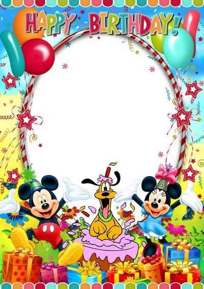 Winnie Borders Pooh And Printable Friends Frame