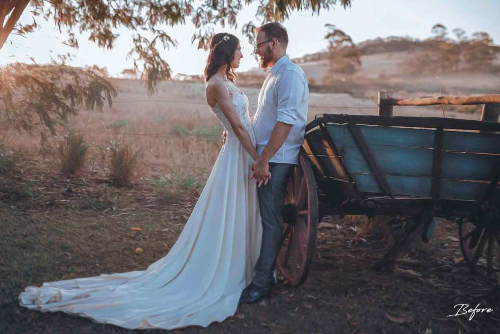 אדובי פוטושופ ולייטרום - לפני צילום חתונה