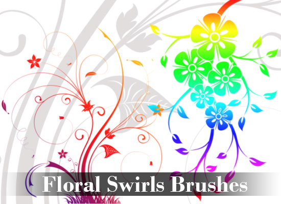 Floral-Swirls-Brushes