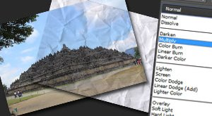 Macam-macam hasil Blending Mode pada Photoshop
