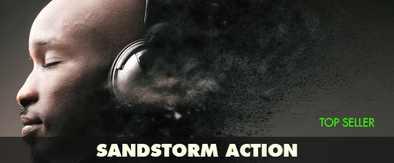 seven styles sandstorm photoshop action