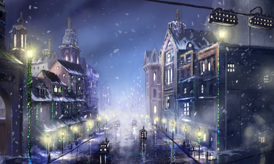steampunk_city_christmas_by_jjpeabody