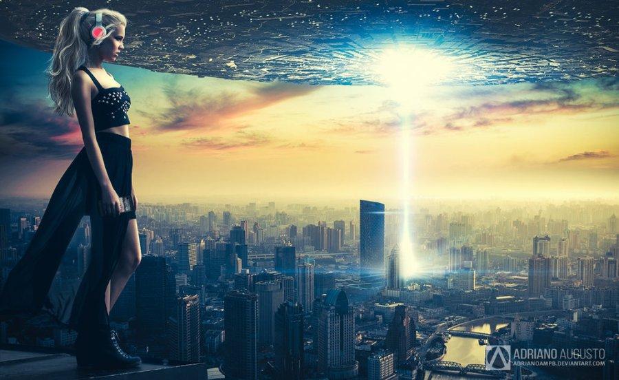 sci fi city girl