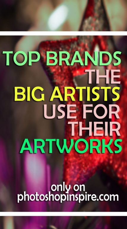 top brands big artists prefer