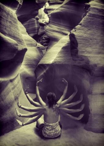 Antelope Goddess