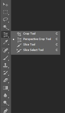 Photoshop CS6 Crop tools