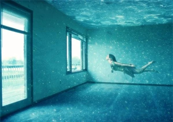 How to Create an Underwater Apartment in Photoshop (Custom)