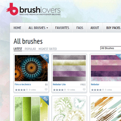 Giveaway: Win 10 Premium Photoshop Brushes from Brush Lovers