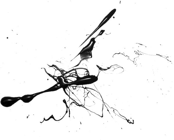 Splattered Ink