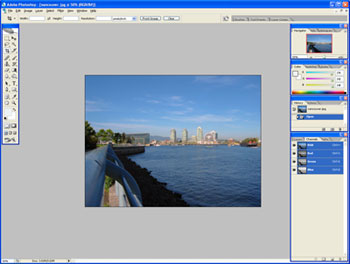 vancouver.jpg opened with Photoshop