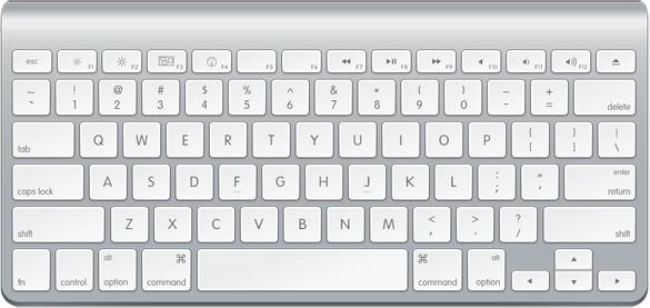 Draw keyboard