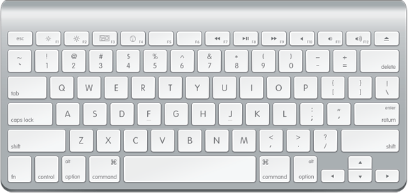How To Draw An Ultra Clean Apple Keyboard With Photoshop Photoshop Tutorials