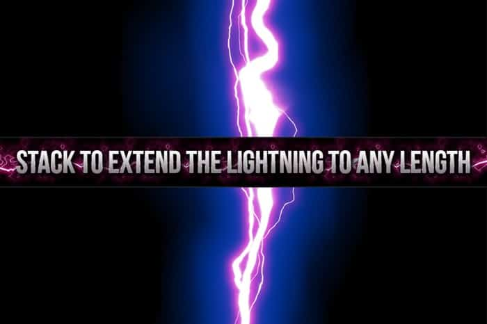 Stack to extend the lightning to any length