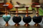Iranian Art - Handicrafts - Inlaid Turquoise 07