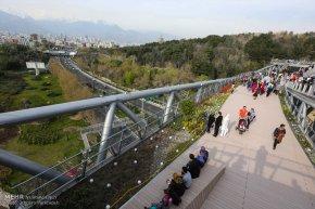 Tehran, Iran - Tabiat pedestrian bridge 13