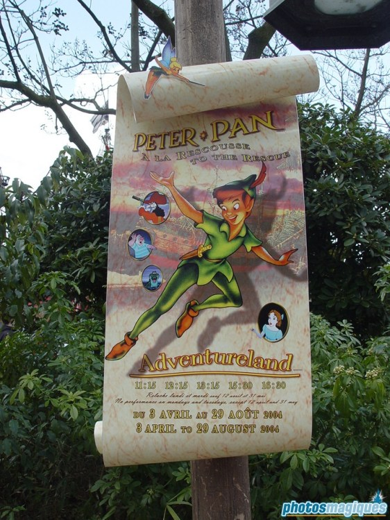 Peter Pan to the Rescue