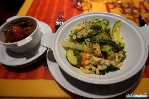 Vegetarian dish - Bistrot Chez Rémy
