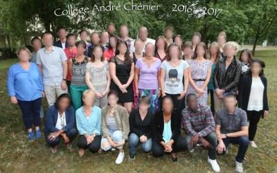 Merci au collège André Chénier !