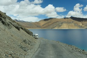 Leaving Pangong in the morning -7500312