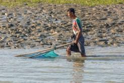 Kaladan River de Sittwe à Mrauk-U Etat d'Arakan