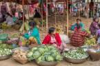 Marché de Pan Mraun - Région de Mrauk-U