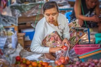 Marché de Kentung Etat Shan