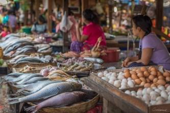 Marché de Moulmein - Etat Môn