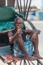 Taxi vélo Calcutta Inde